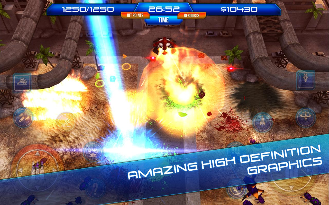 Aftershock - screenshot