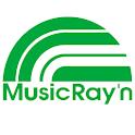 ミュージックレイン logo