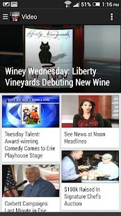 WICU/WSEE (Erie, PA) TV News- screenshot thumbnail