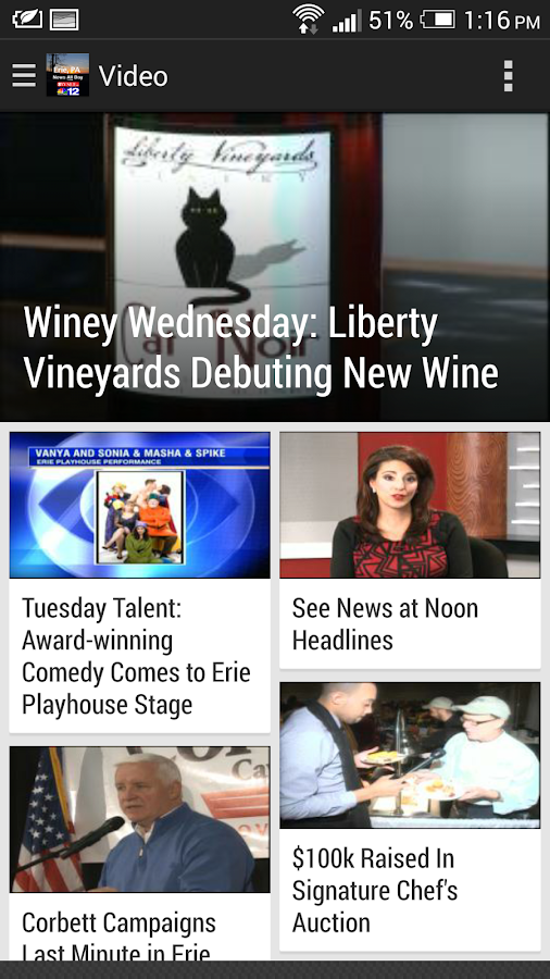 WICU/WSEE (Erie, PA) TV News- screenshot