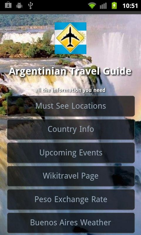 Argentina Travel Guide- screenshot