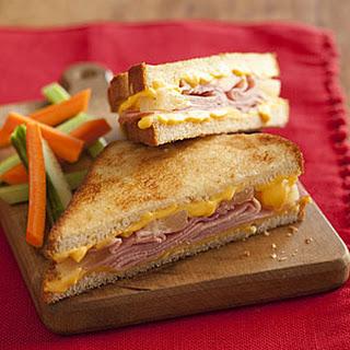 Hawaiian Grilled Cheese Sandwiches.