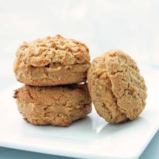 Low Carb Peanut Butter Sandwich Cookies.