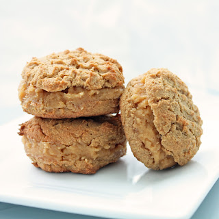 Low Carb Peanut Butter Sandwich Cookies.