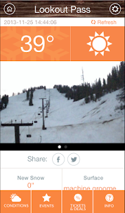 Ski NW Rockies App- screenshot thumbnail