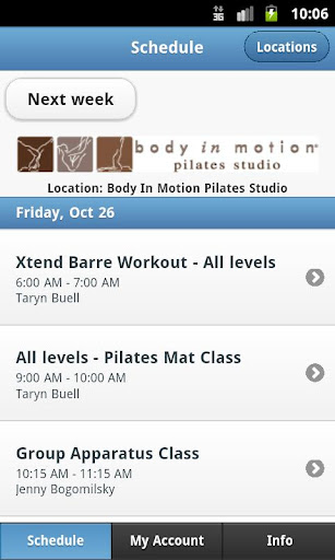 Body in Motion Pilates Studio