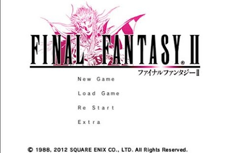 FINAL FANTASY II- screenshot thumbnail