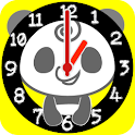 Panda Analog Clocks Widget