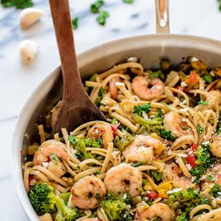 Healthy Garlic Shrimp Pasta Recipes.