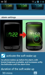 Glimma (soft alarm clock) - screenshot thumbnail