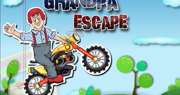 爺爺逃生 - 自行車騎手
