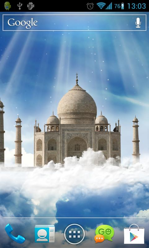 Taj Mahal Live Wallpaper - screenshot