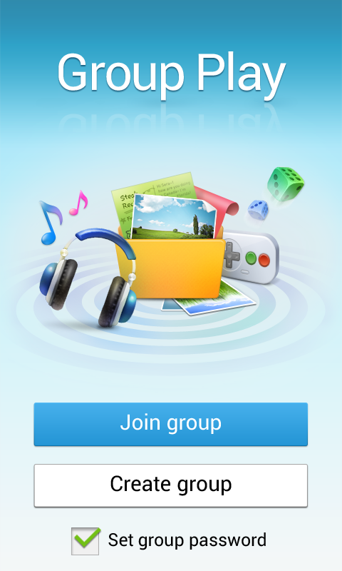 GROUP PLAY - screenshot