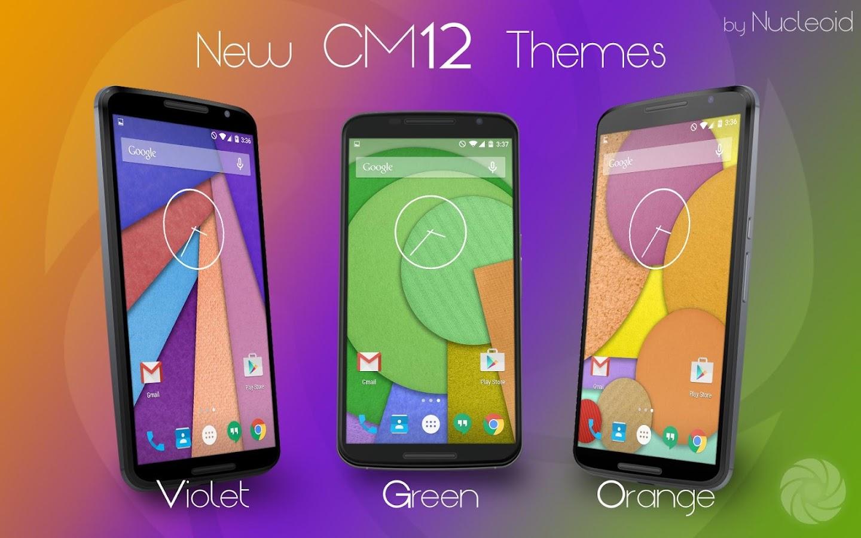 Green gmail theme - Cm12 Green Pop Theme Screenshot