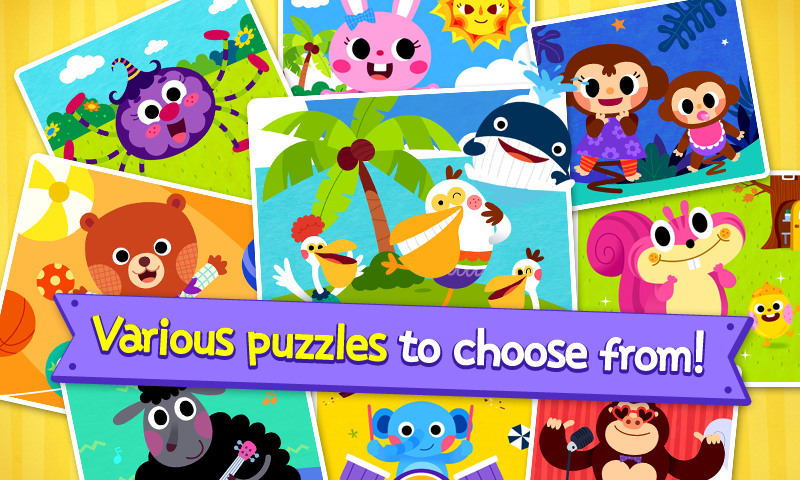 PINKFONG Kids Puzzle Fun- screenshot