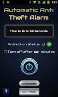 Screenshot of Automatic Anti Theft Alarm