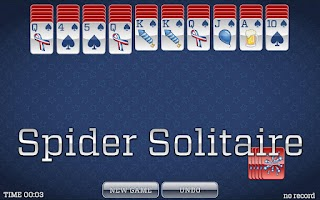 Screenshot of 4th of July Solitaire