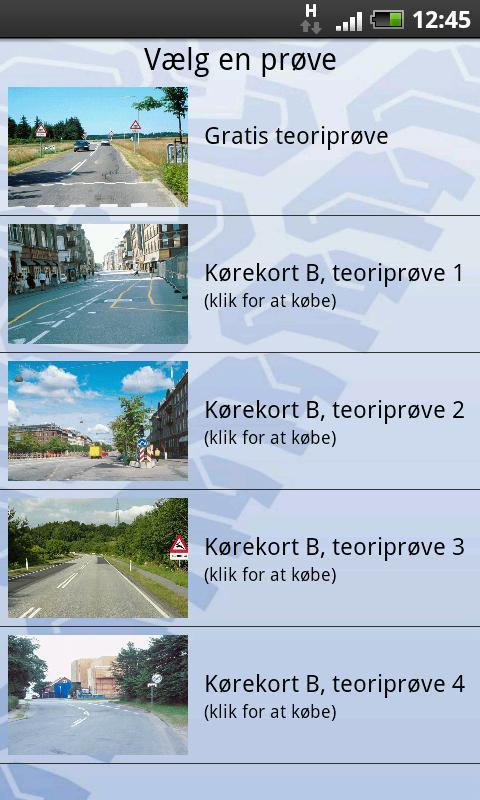 Prøve 7 og 8 til Teoriprøven- screenshot