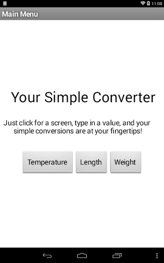 Your Simple Converter