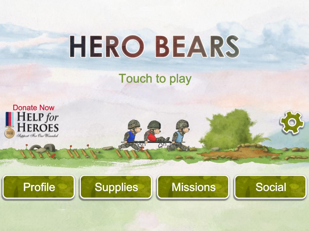 Help for Heroes : Hero Bears- screenshot