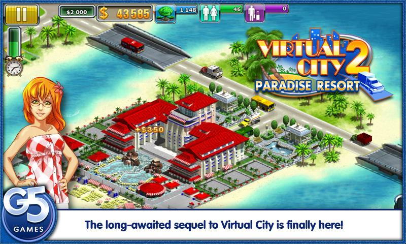 Virtual City: Paradise Resort - screenshot