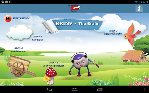 Anatomy for Children-The Brain- screenshot thumbnail