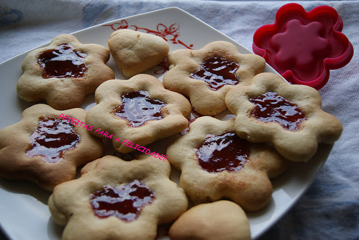 Biscuits with Quince Jelly
