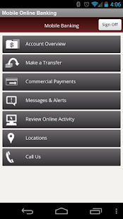 TCBOR Mobile Banking - screenshot thumbnail