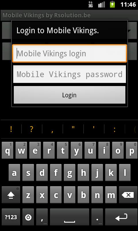 Mobile Vikings by Rsolution.be- screenshot