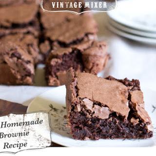 Best Homemade Brownie.