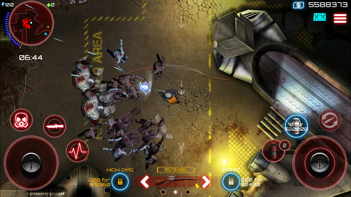 #1. SAS: Zombie Assault 4 (Android)