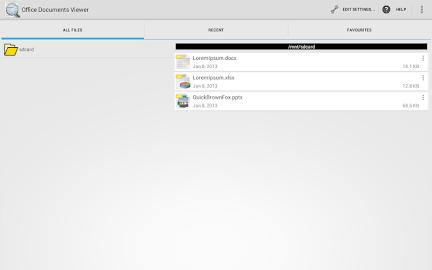 Office Documents Viewer (Full) Screenshot 7