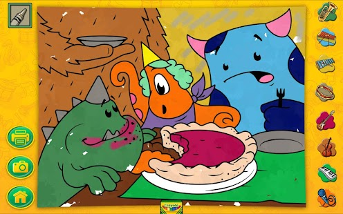 Crayola Color, Draw & Sing - screenshot thumbnail