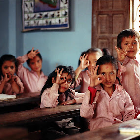 Classmate 童学 by Domi Chung - People Group/Corporate ( children, study, kids, young, asian, classmate, school, student, schoolchild, asia, nepali, pupils, nepal )