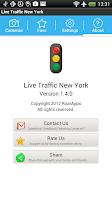 Screenshot of Traffic Cam New York Free