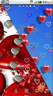 Colorful hearts- screenshot thumbnail