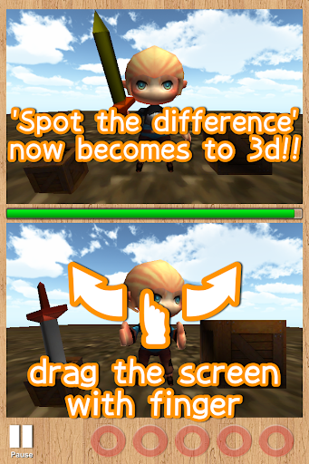 Spot the difference 3D