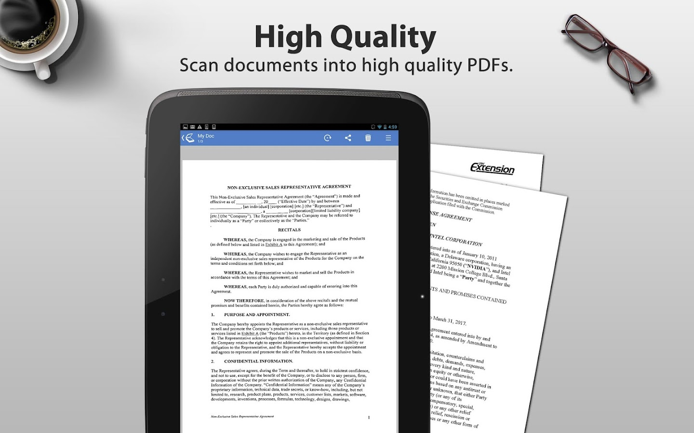 Tiny Scan Pro: PDF Scanner - screenshot