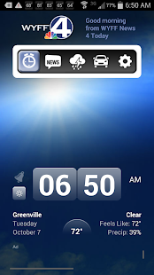 Alarm Clock WYFF 4 Greenville - screenshot thumbnail