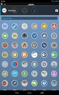 Spectra icon theme - screenshot thumbnail