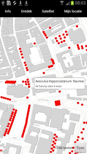Bomenspotter Arnhem Open Data
