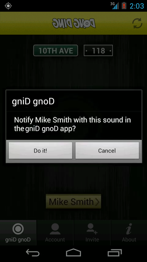 gniD gnoD - screenshot