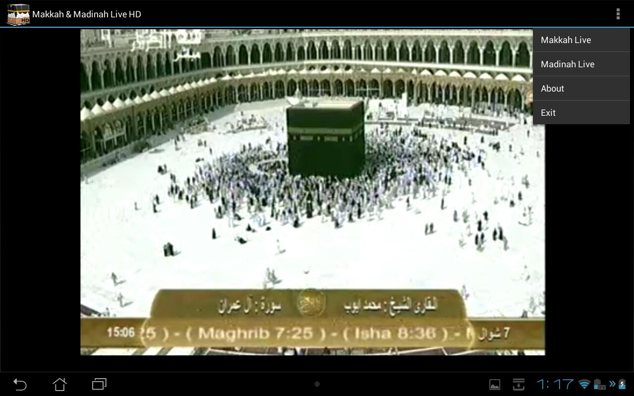Makkah & Madinah Live Tablets - screenshot