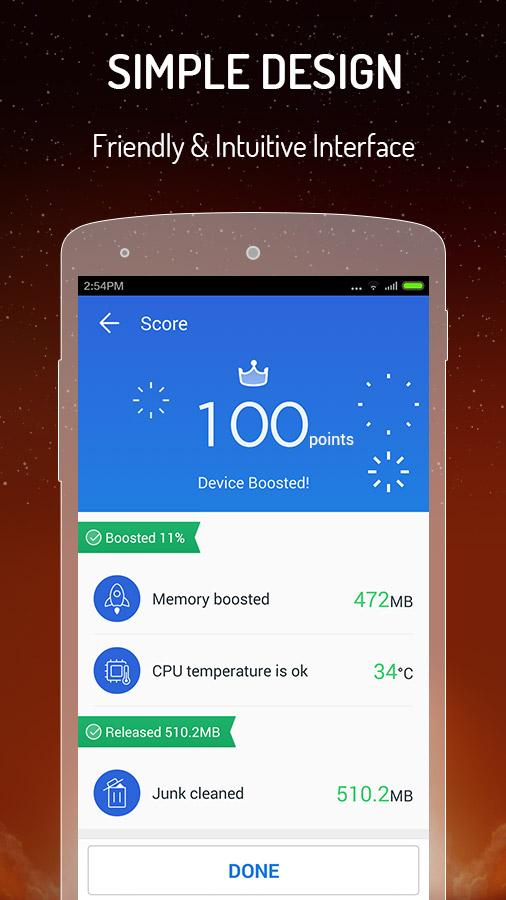 Screenshots of CM Speed Booster丨Cache Cleaner for Android
