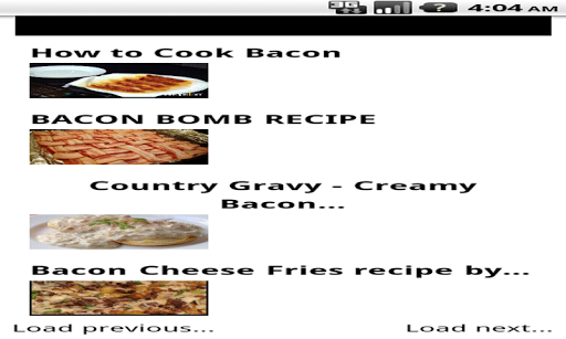 【免費教育App】Bacon Recipes-APP點子