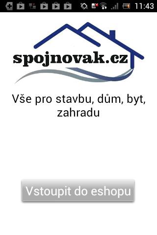 Eshop Spojnovak.cz stavba dům