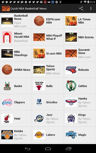 Quick Pro Basketball News