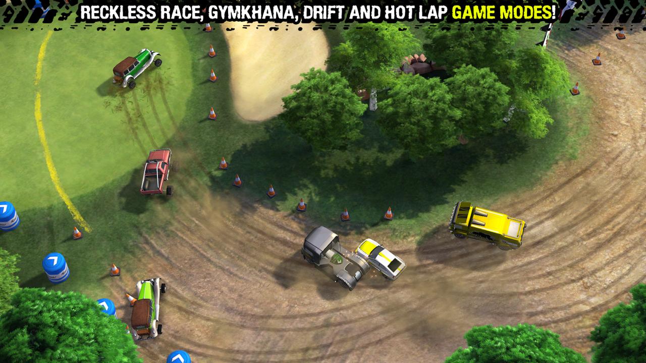 Reckless Racing 3 screenshot #1
