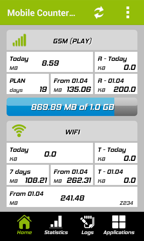 Mobile Counter Pro - 4G, WIFI- screenshot