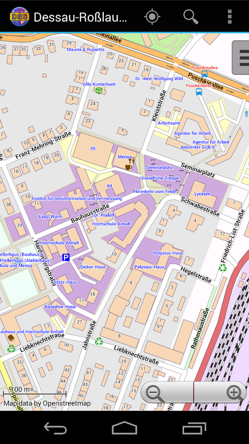 Dessau Offline City Map- screenshot